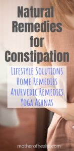 natural remedies for constipation  mother of health