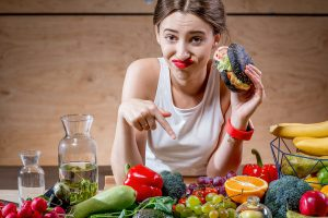 common nutrition mistakes - eating junk food
