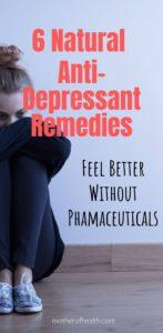 natural antidepressant remedies