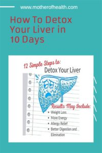 how to detox the liver pinterest pin