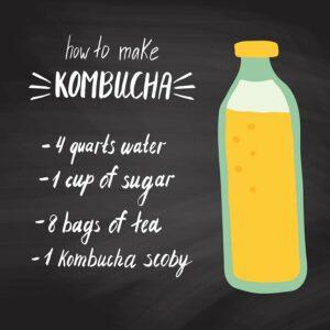 what's in kombucha