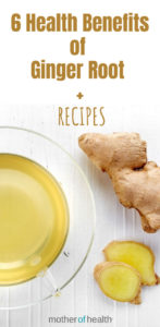 health benefits of ginger root