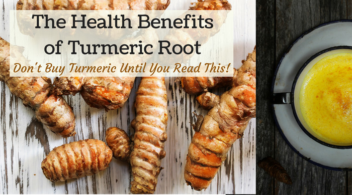 The benefits of turmeric root