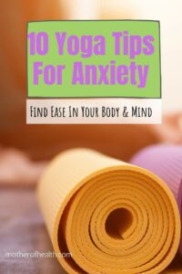 yoga tips for anxiety