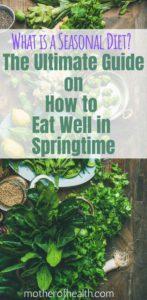 what is a seasonal diet?