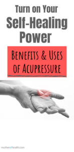what is acupressure therapy