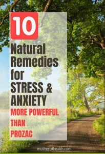 natural remedies for stress and anxiety