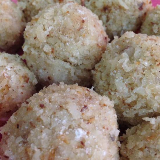 cardamom coconut bliss balls