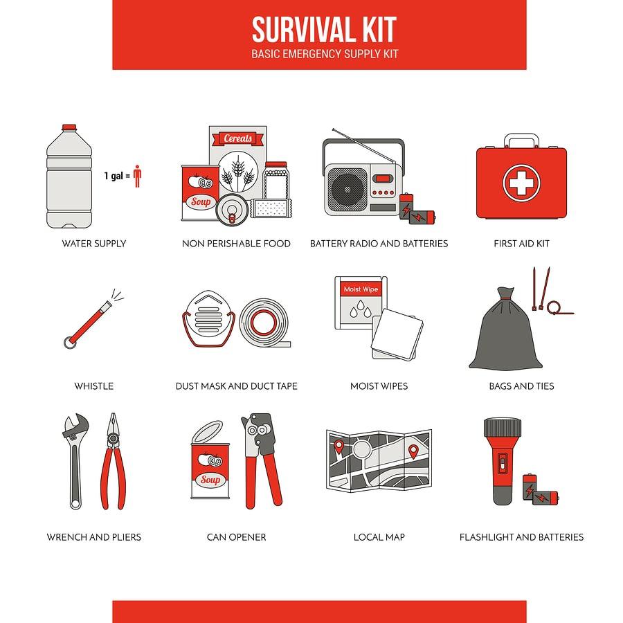 essentials for a bug out bag