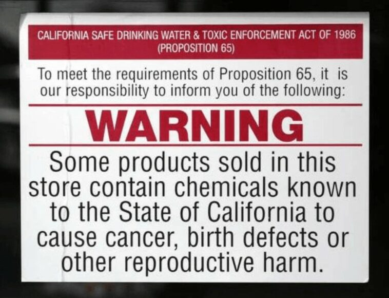 Big Agriculture obtains a permanent injunction preventing the state of California from requiring a cancer warning label on glyphosate products sold within the state