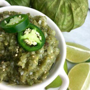 garden fresh salsa verde