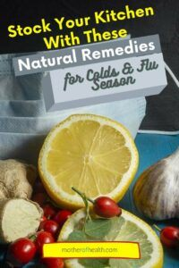 natural remedies for colds and flu season