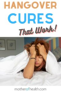 hangover cures that work