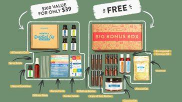 Simply Earth Essential Oil Recipe Box for April 2021