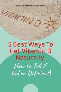 best ways to get vitamin d naturally