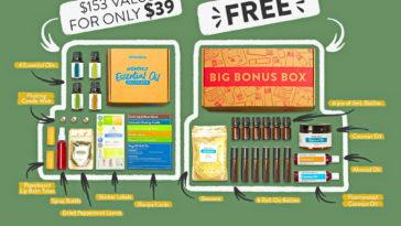 Simply Earth Essential Oil Recipe Box for June 2021