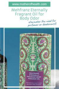 Mehfranz eternally fragrant oil for body odor